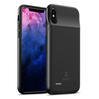 DESTEK 3200mAh Battery Case for iPhone X, compatible w/Wire Headphones