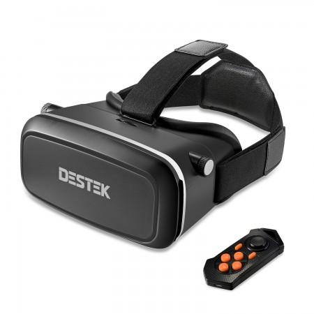DESTEK V2 Virtual Reality Headset with Bluetooth Controller