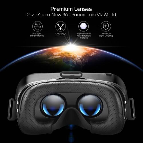 DESTEK V4 VR, 103°FOV, Eye Protected HD Virtual Reality Headset w
