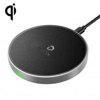 DESTEK Fast Wireless Charger for iPhone X Xs XR Xs Max 8 8Plus (not Included Adapter)