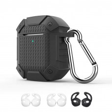 DESTEK Protective Case for Airpods Portable Silicone Cover